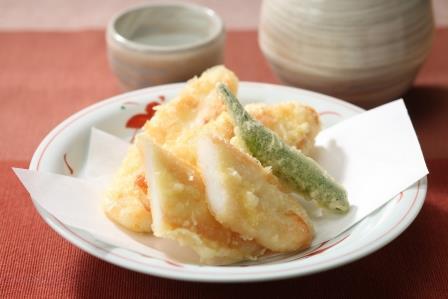 笹かまの天ぷら
